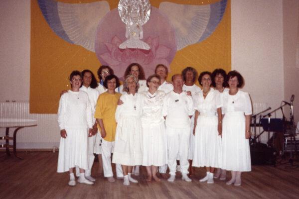 Sumarskóli Gunnsölille Danmörku 1990