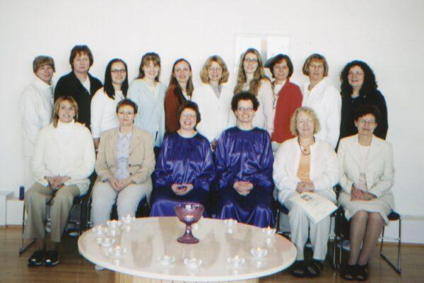 G-Heilunarskólinn útskrift 2. árgangur 2002