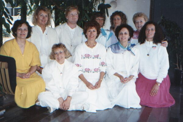 Sumarskóli í Rödding Danmörku 1989