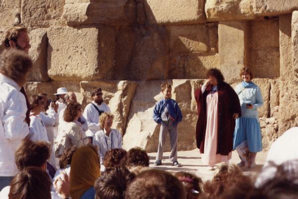 Friðarferð Ísrael, Egyptal. og Grikkl. 1989