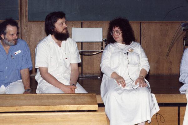 Sumarskóli í Rödding Danmörku 1988